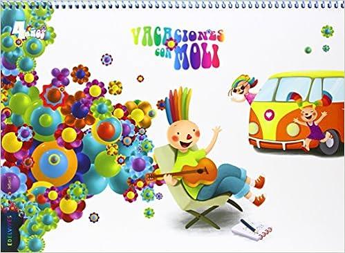 5356f0428 Vacaciones con Moli Infantil 4 años Dimensión Nubaris ...