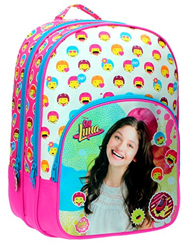 86d2763b394 Disney Soy Luna School Bag with Pencil Case 42 cm Mochila Bagpack -  Original - Buy Online in UAE.