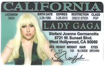 Germanotta California By amp; Lady uk Amazon - Toys Stefani Joanne co Incrediblegifts Gaga Games Id License