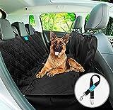 Duke & Dixie Dog Car Seat Cover Backseat Hammock 100% Waterproof Dogs Pet