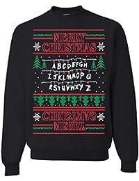 Stranger Things Upside Down Ugly Christmas Sweater Unisex Sweatshirt