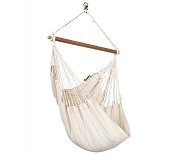 la siesta modesta latte   organic cotton basic hammock chair amazon     la siesta modesta latte   organic cotton basic      rh   amazon