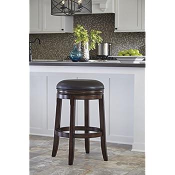 Amazon Com Porter Tall Uph Swivel Stool 2 Cn Kitchen
