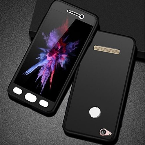 classic fit 25eb4 531fc Classico Ipaky 360 Degree All-round Front & Back Protective Tempered Glass  Slim Fit Case Cover for Xiaomi Redmi 4X / 4 (Black)