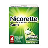 Best Nicotine Gums - Nicorette Nicotine Gum Fresh Mint 4 milligram Stop Review