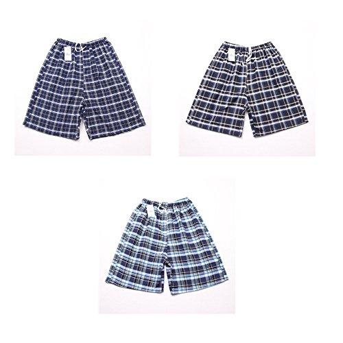 Beach Shorts Short de bain pour homme et short de plage à séchage rapide, ensemble de 3 shorts