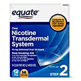 Equate Nicotine Transdermal System Step 2, 14mg