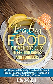 Baby food Toddlers Naturally Cookbook ebook product image