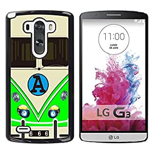 Dragon Case - FOR LG G3 - ?Life doesn't stop for anybody - Caja protectora de pl??stico duro de la cubierta Dise?¡Ào Slim Fit