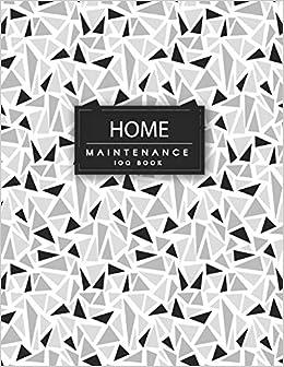 amazon home maintenance log book repairs and maintenance record