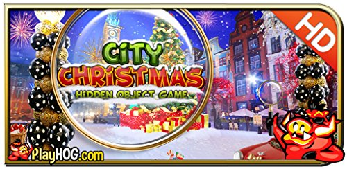 City Christmas - Hidden Object Game [Download] (Games Object Pc Christmas Hidden)