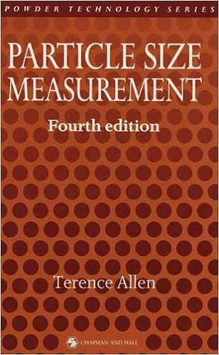 Book Particle Size Measurement (Powder Technology Series)