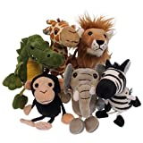The Puppet Company African Finger Puppets Set of 6