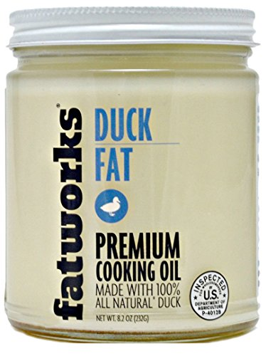 Duck Fat, Cage-Free, All Natural, 8.2 Oz (1 Jar)