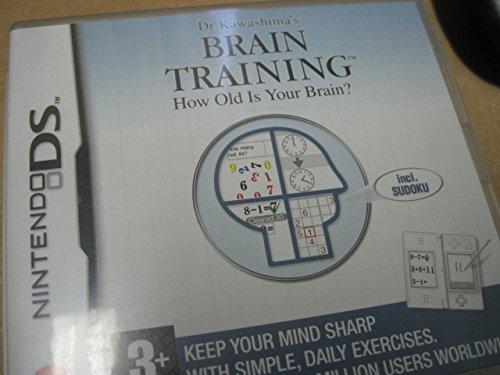 Dr Kawashima's Brain Training (Nintendo DS) (Brain Age Nintendo 3ds)
