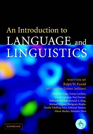 An Introduction To Language And Linguistics Kindle border=