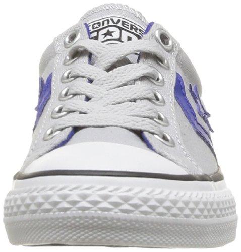 Converse Sp Ev Lacet Ox 367530-42-5 - Zapatillas de tela para unisex-niño Gris (Gris (Gris Clair))