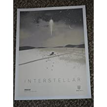 INTERSTELLAR MOVIE POSTER 1 Sided ORIGINAL IMAX MINI 12x16 MATTHEW MCCONAUGHEY by Super Posters