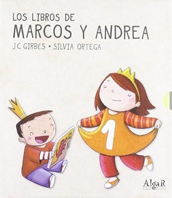 Pack. Libros De Marcos Y Andrea 4 Titulos LIBROS DE CARTÓN: Amazon ...