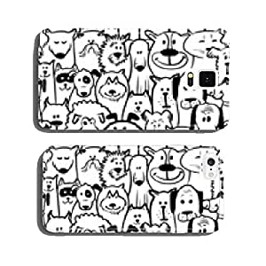dogs and cats seamless cell phone cover case iPhone5