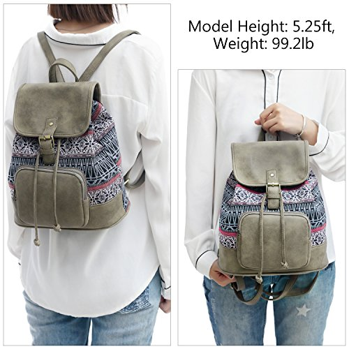 Women Teen and Fashion Lightweight Purse Girls for Type2 Backpack x7IHvqB