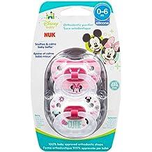 NUK Disney Baby Minnie Mouse Puller Chupete en varios colores y estilos