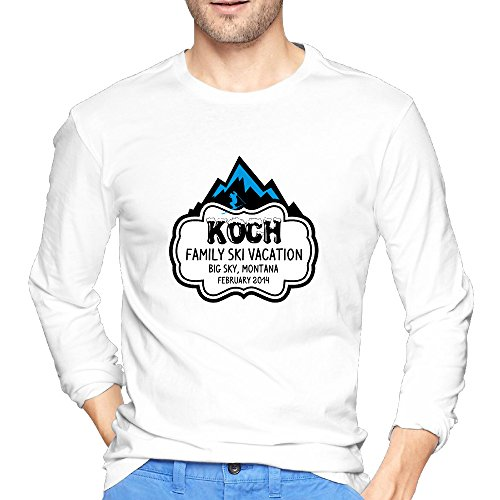 Adult Summer Ski Vacation Cotton Tshirts 2016
