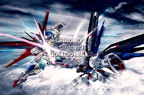 CGC Huge Poster - Gundam Seed Destiny - Freedom Vs Impulse - GUNS07 (24