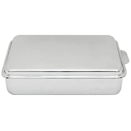 Lindy s Stainless Steel 9 X 13 Inches Covered Cake Pan, Silver 1- UNIT
