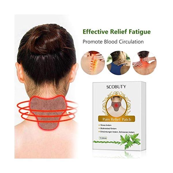 Cerotto Termico,Cerotto Cervicale,Cerotti anti dolore,Patch Antidolorifico per schiena, spalle, collo, addome 3 spesavip