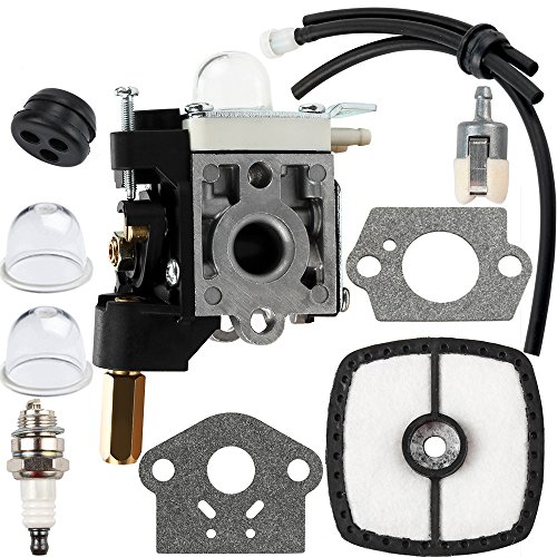 Dalom SRM 210 Carburetor w Fuel Line Kit for Echo Trimmer Pa