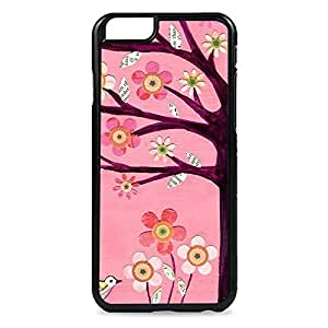 Case Fun Case Fun Pink Tree Snap-on Hard Back Case Cover for Apple iPhone 6 4.7 inch