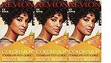Revlon Colorsilk Moisture Rich Hair Color, Jet Black No.10, 3 Count