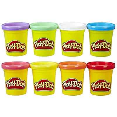 Play-Doh Rainbow Starter Pack 16oz: Toys & Games