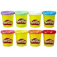 Play Doh - Rainbow Starter Pack inc 8 Tubs
