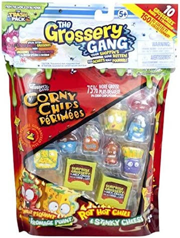 Colours and Contents Vary New Collectible 2016 by Moose Toys ID69003 The Grossery Gang S1 Large Pack