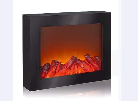 EASYmaxx 03422 - Chimenea de pared (efecto de chimenea, sin función de calefacción)