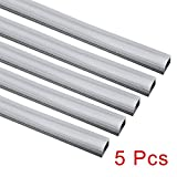 uxcell 5Pcs CN-612 0.5m 25mmx15mm LED Aluminum