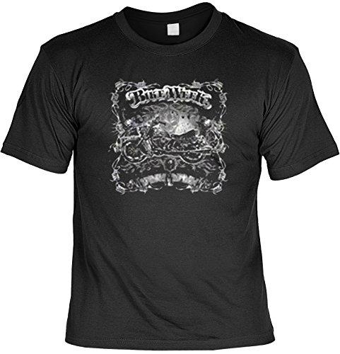 Biker Motorrad Legenden : Bike Week - T-Shirt bedruckt