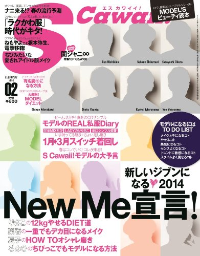 Scawaii! (エス カワイイ) 2014年 02月号 [雑誌]