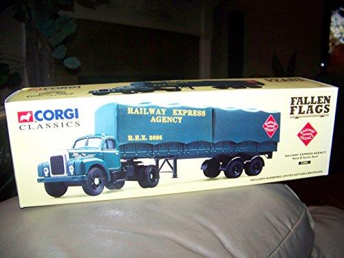 Corgi Classics Railway Express Agency Mack B Series Semi Truck, 18-Wheeler, Rig tractor trailer & Truck