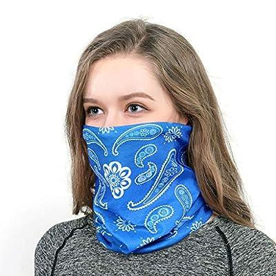 WEISUN Multi-Use Unisex Outdoor Headband Scarf Neck Windproof Face Cover Sun Protection Bandana: Clothing