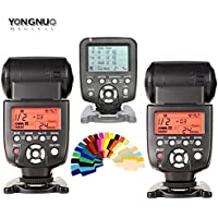 Yongnuo YN560 III 2 PCS Flash Speedlite kit + YN560 TX Flash Controller for Nikon DSLR Cameras