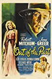 Out of the Past Poster 27x40 Robert Mitchum Kirk Douglas Jane Greer