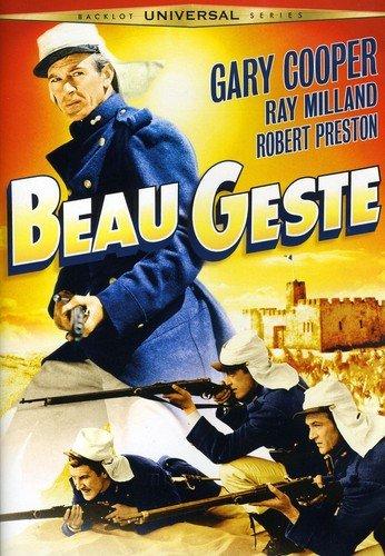 Beau Geste Gary Cooper Ray Milland Robert Preston Brian Donlevy