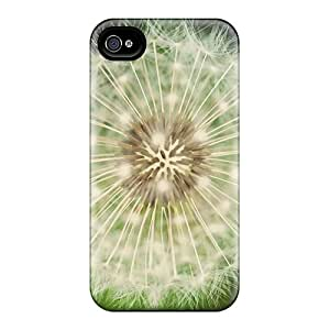 BabyCat Premium Protective Hard Case For Iphone 4/4s- Nice Design - Bokeh Dandelion