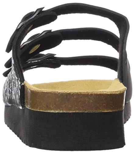 003 Femme Supersoft Pantoufles 049 Noir 275 Black aWrYA