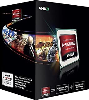 AMD A6-5400K APU 3.6Ghz Dual-Core Processor AD540KOKHJBOX (B0095VPBFY) | Amazon price tracker / tracking, Amazon price history charts, Amazon price watches, Amazon price drop alerts