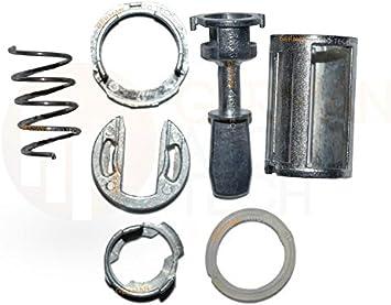 Amazon Com Door Lock Cylinder Barrel Repair Kit For Volkswagen Vw L R Beetle Mk4 Golf Jetta Bora Automotive