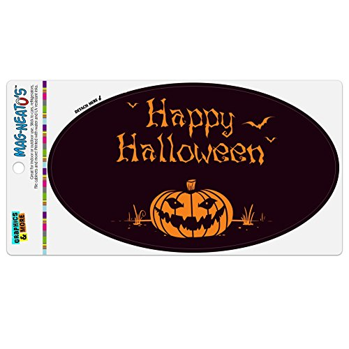 Graphics and More Happy Halloween Holiday Pumpkin Jack-o-lantern